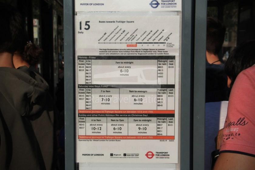 15H (Heritage) Charing Cross Trafalgar Square Tower of London 080