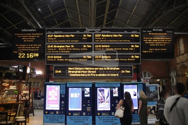 Chiltern Railways London Marylebone Oxford 002