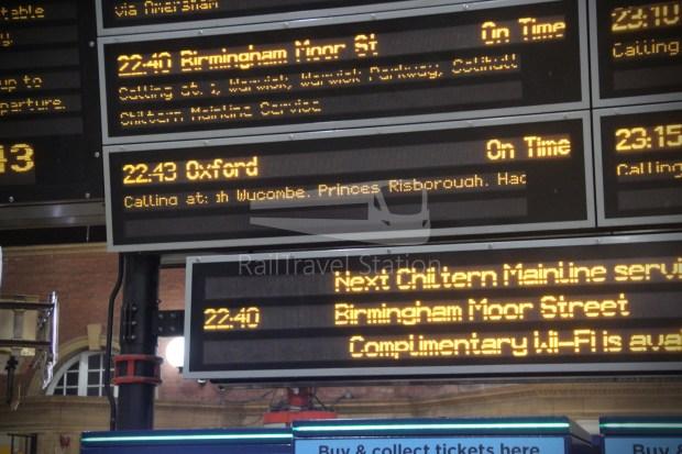 Chiltern Railways London Marylebone Oxford 003