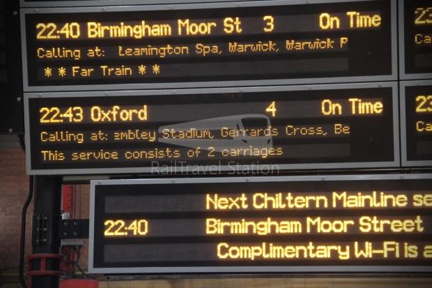 Chiltern Railways London Marylebone Oxford 015