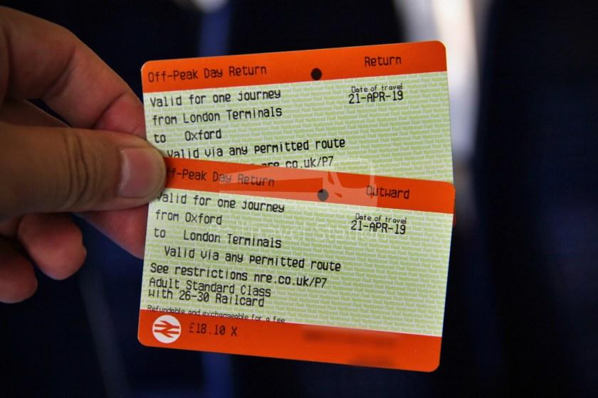 Chiltern Railways Oxford London Marylebone 018