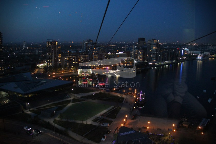 Emirates Air Line Emirates Greenwich Peninsula Emirates Royal Docks Sunset 034