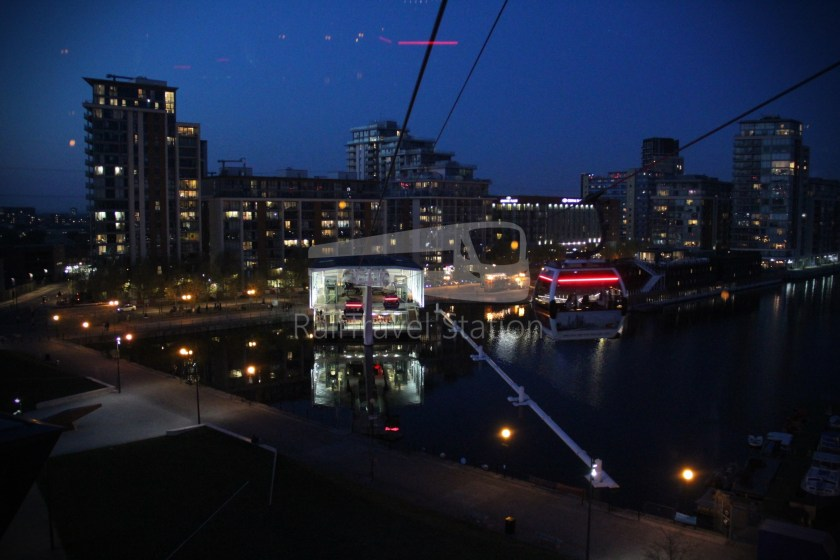 Emirates Air Line Emirates Greenwich Peninsula Emirates Royal Docks Sunset 036