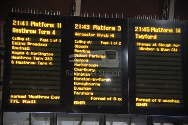 GWR London Paddington Oxford 010