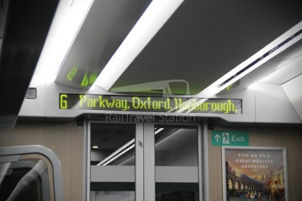 GWR London Paddington Oxford 026
