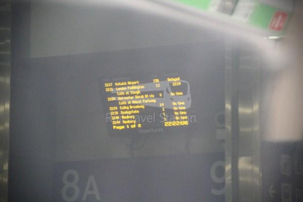 GWR London Paddington Oxford 038
