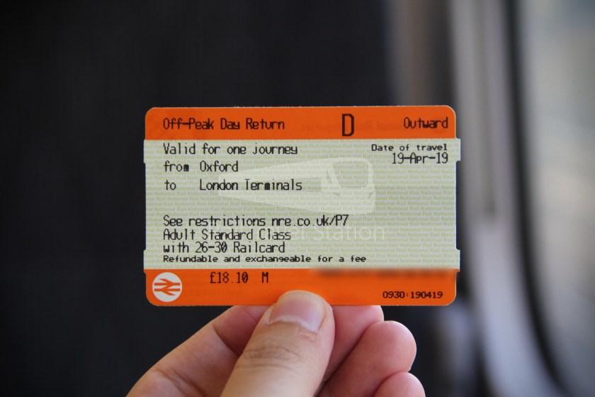 GWR Oxford London Paddington 015
