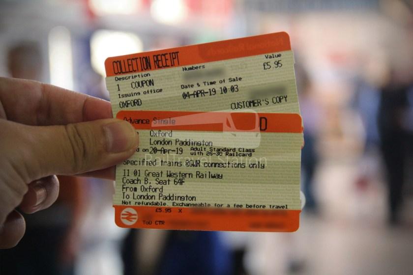 GWR Oxford London Paddington Advance Single 005