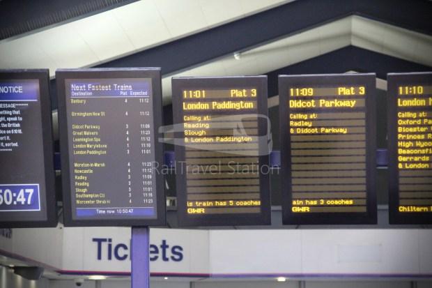 GWR Oxford London Paddington Advance Single 008