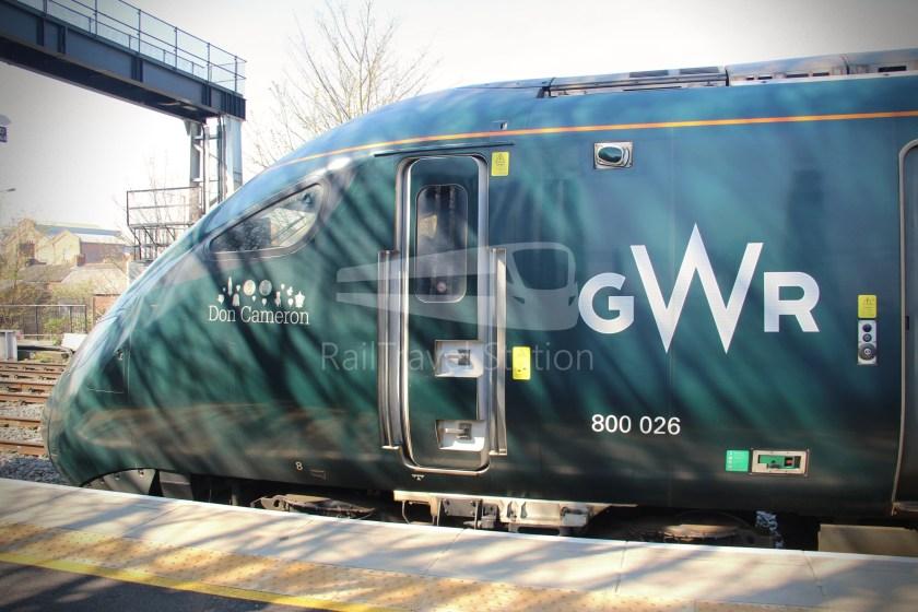 GWR Oxford London Paddington Advance Single 013