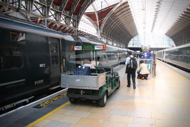 GWR Oxford London Paddington Advance Single 059