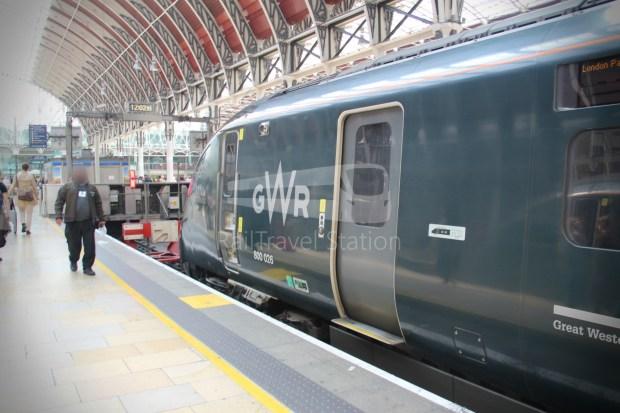 GWR Oxford London Paddington Advance Single 061