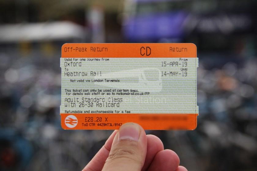 GWR TfL Rail Oxford Heathrow Terminal 4 002