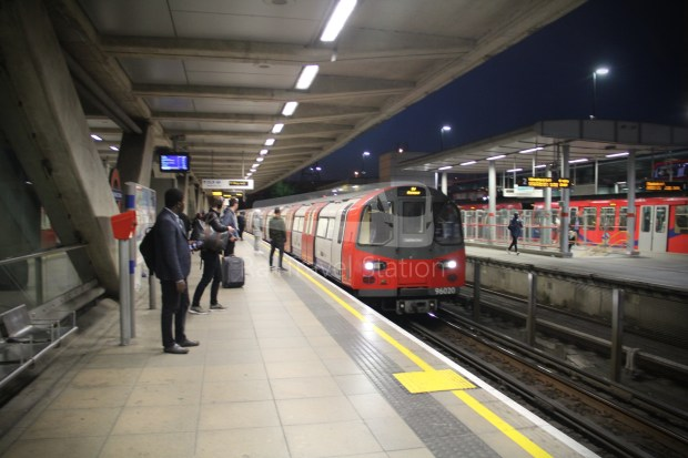 Jubilee Line Canning Town North Greenwich 001
