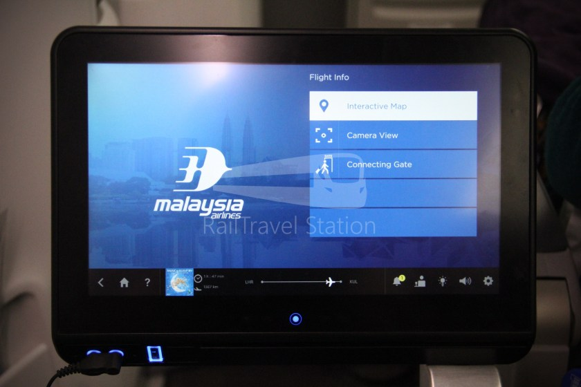 Malaysia Airlines MH1 LHR KUL 162