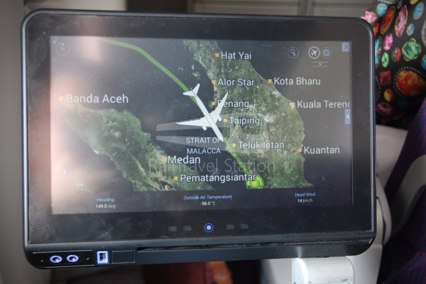 Malaysia Airlines MH1 LHR KUL 167