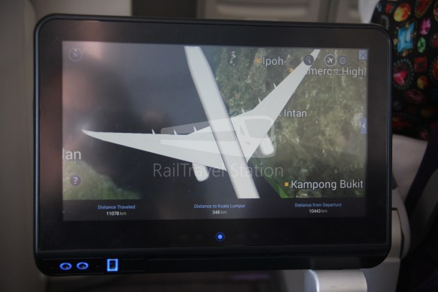 Malaysia Airlines MH1 LHR KUL 181