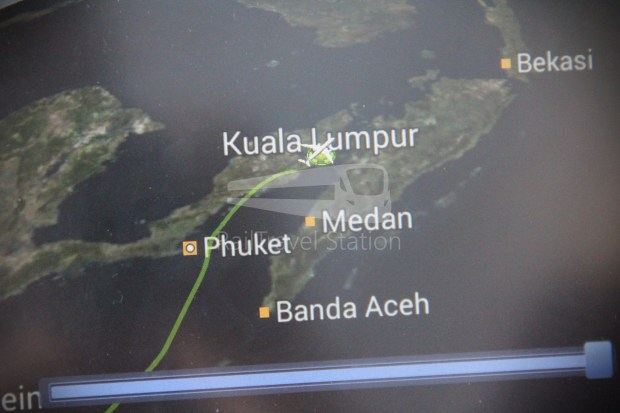 Malaysia Airlines MH1 LHR KUL 182