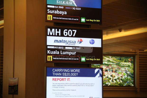 Malaysia Airlines MH607 KUL SIN 076