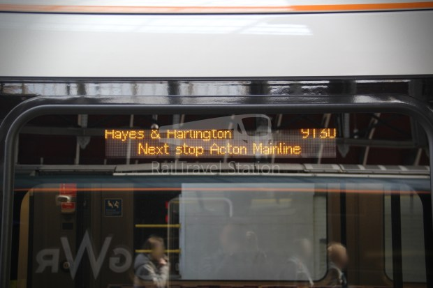 TfL Rail London Paddington Hayes & Harlington 031