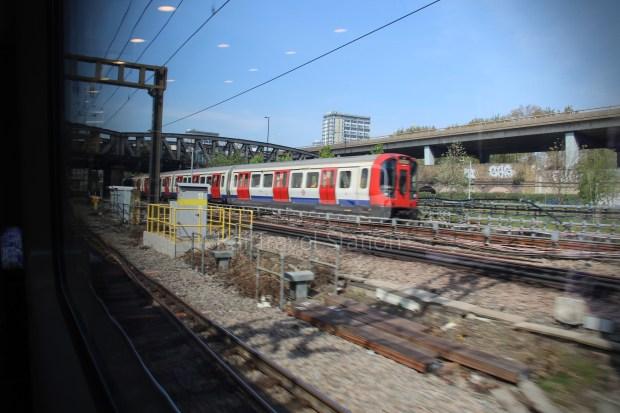 TfL Rail London Paddington Hayes & Harlington 039