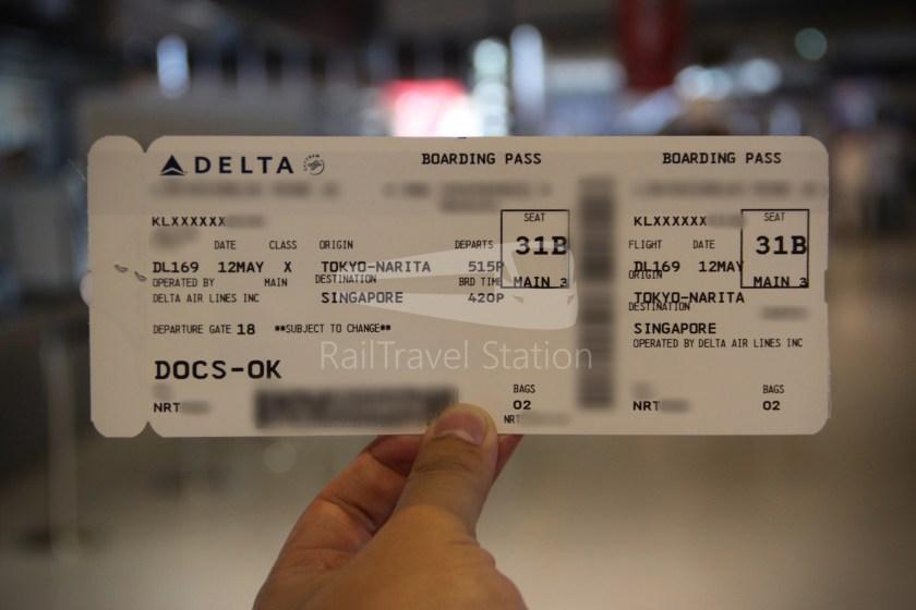 Delta DL169 NRT SIN 014