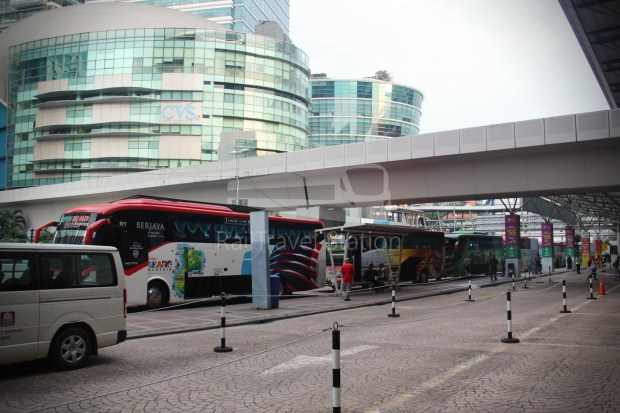 ETS Rail Replacement Bus KL Sentral Tanjung Malim 003