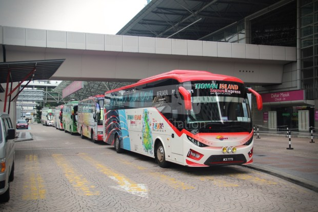 ETS Rail Replacement Bus KL Sentral Tanjung Malim 004