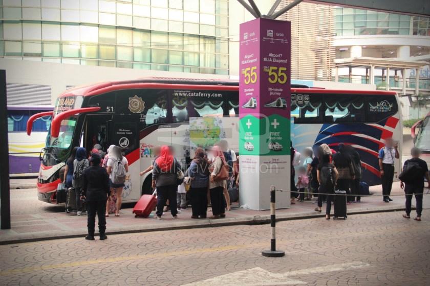 ETS Rail Replacement Bus KL Sentral Tanjung Malim 005