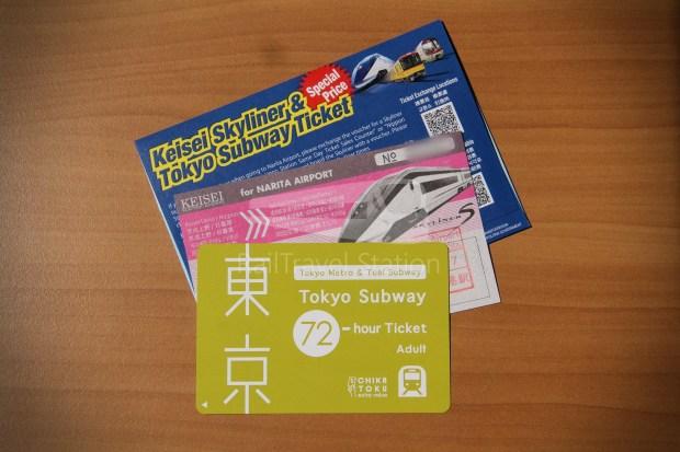 Keisei Skyliner and Tokyo Subway 72-Hour Ticket 005