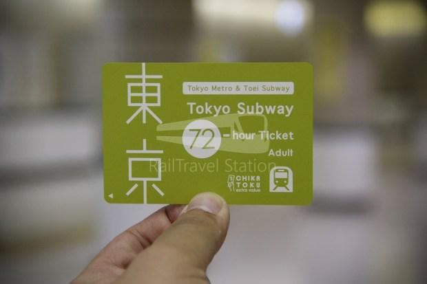 Keisei Skyliner and Tokyo Subway 72-Hour Ticket 014