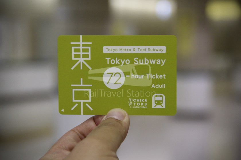 Keisei Skyliner and Tokyo Subway 72-Hour Ticket 014