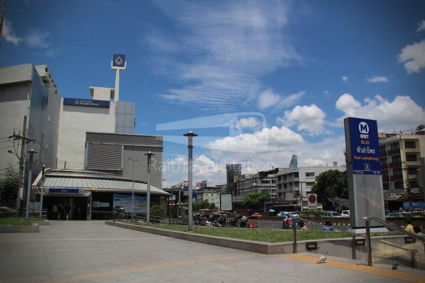 MRT Blue Line Hua Lamphong Tha Phra Extension 002