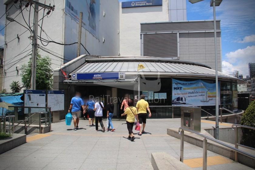 MRT Blue Line Hua Lamphong Tha Phra Extension 003
