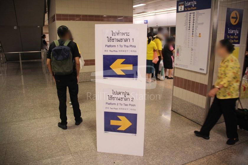 MRT Blue Line Hua Lamphong Tha Phra Extension 017