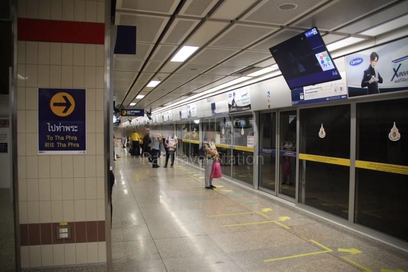 MRT Blue Line Hua Lamphong Tha Phra Extension 019