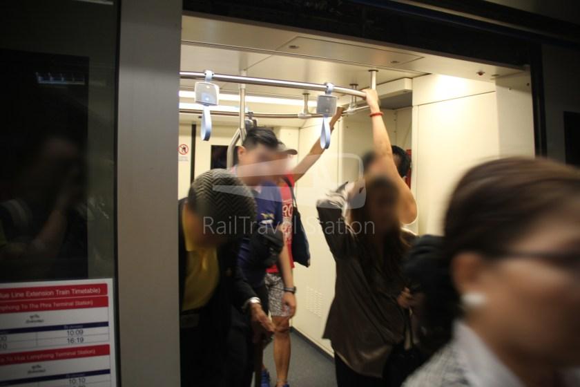 MRT Blue Line Hua Lamphong Tha Phra Extension 022