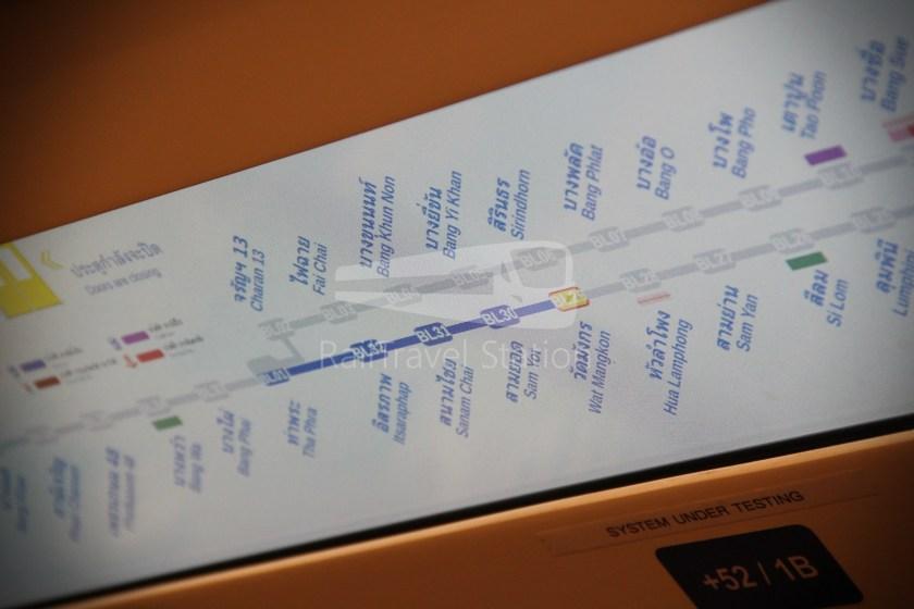 MRT Blue Line Hua Lamphong Tha Phra Extension 027