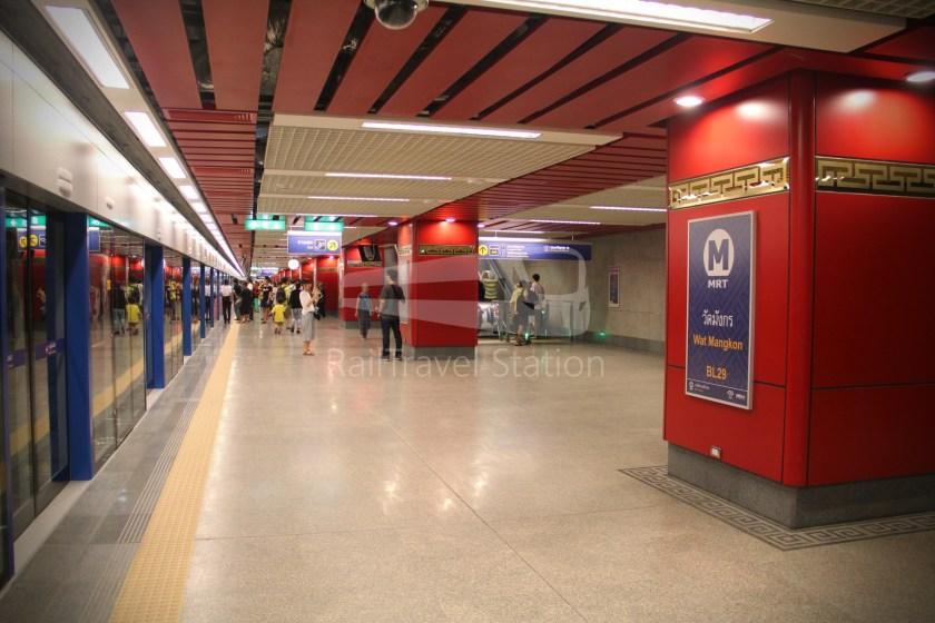 MRT Blue Line Hua Lamphong Tha Phra Extension 030