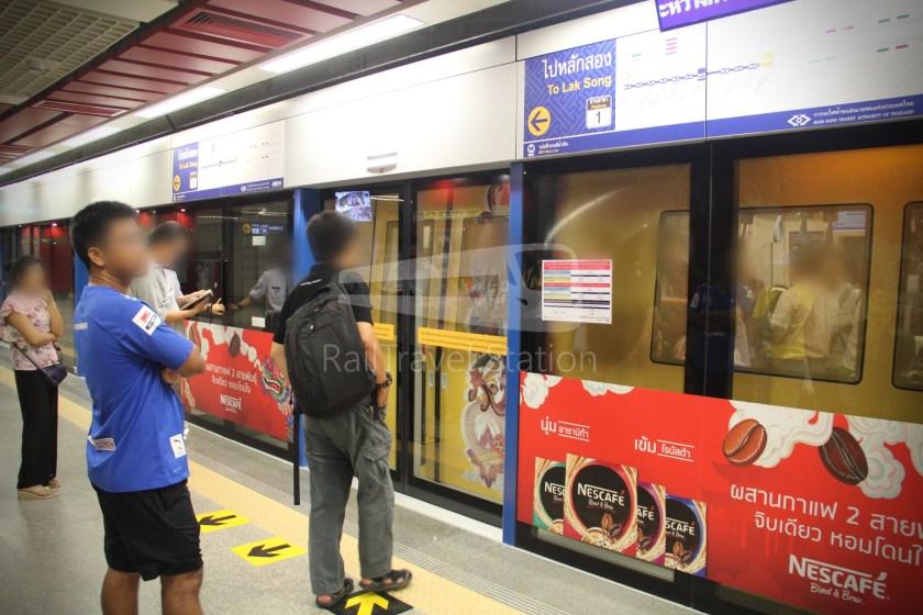 MRT Blue Line Hua Lamphong Tha Phra Extension 041