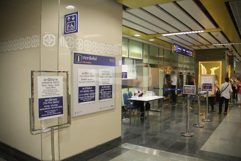 MRT Blue Line Hua Lamphong Tha Phra Extension 072