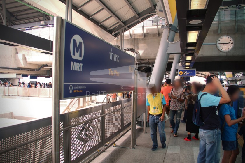 MRT Blue Line Hua Lamphong Tha Phra Extension 085