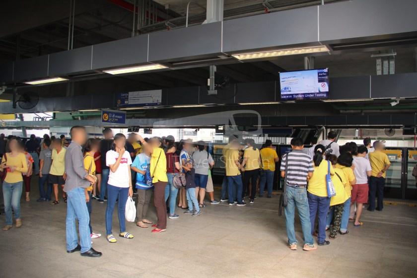 MRT Blue Line Hua Lamphong Tha Phra Extension 086