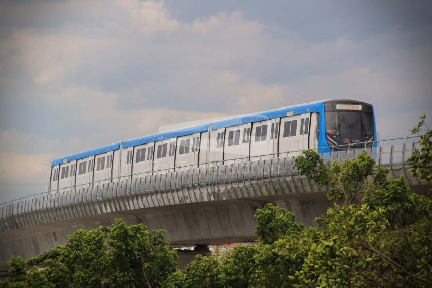 MRT Blue Line Hua Lamphong Tha Phra Extension 103
