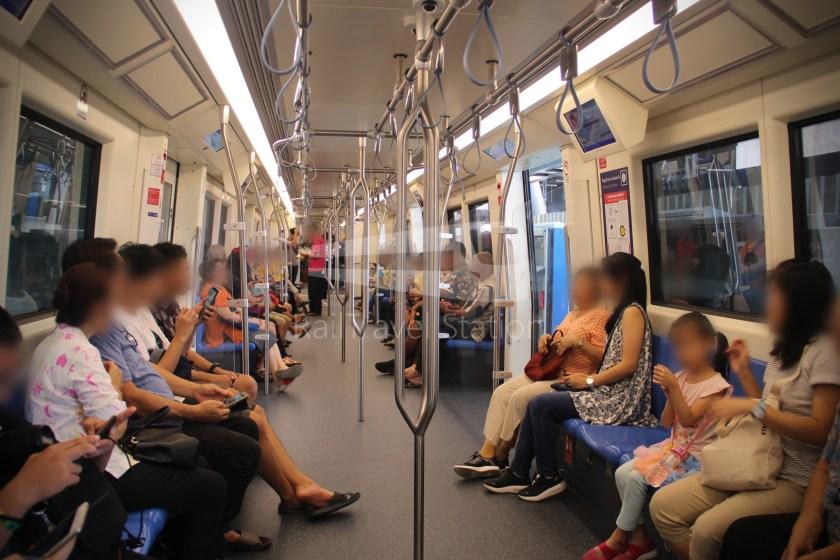 MRT Blue Line Hua Lamphong Tha Phra Extension 112