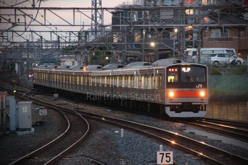 Musashino Line 205 Nishi-Funabashi Tokyo 004