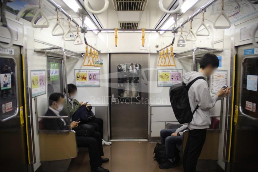 Musashino Line 205 Nishi-Funabashi Tokyo 011
