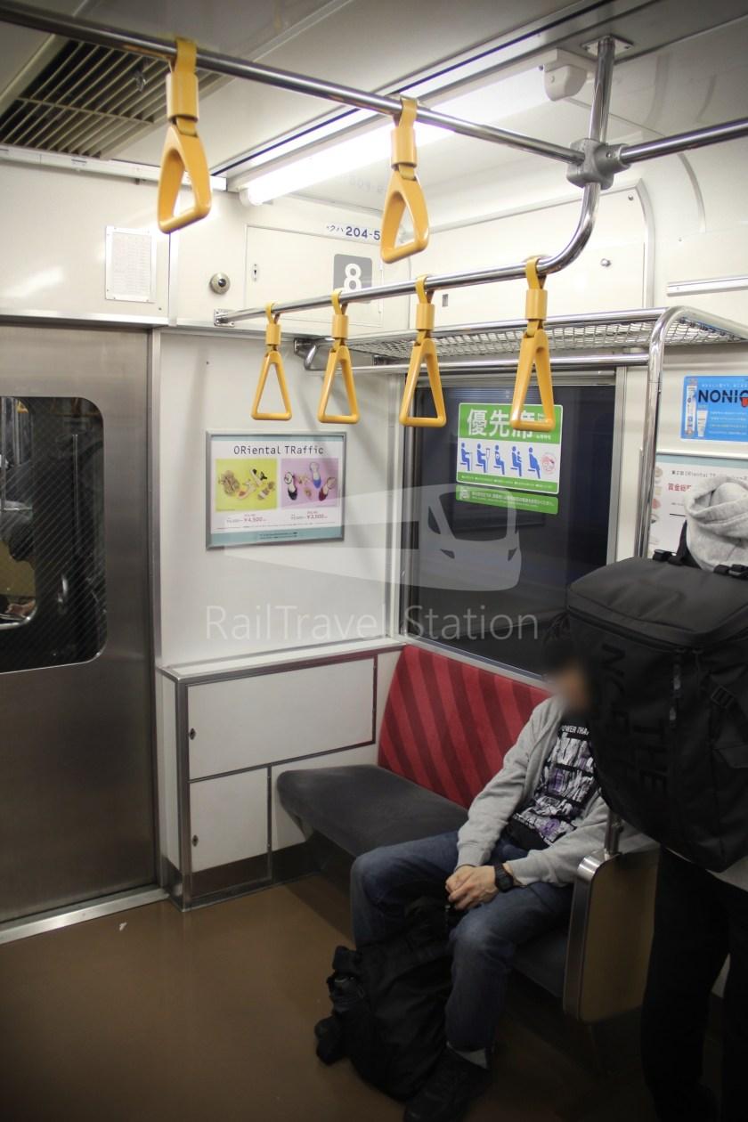 Musashino Line 205 Nishi-Funabashi Tokyo 015