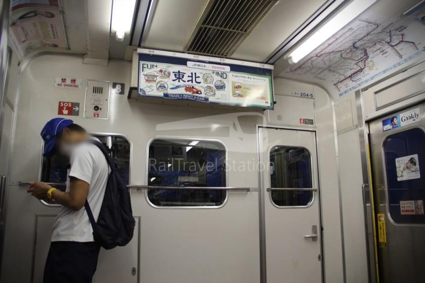 Musashino Line 205 Nishi-Funabashi Tokyo 017