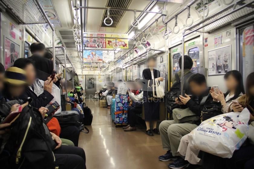 Musashino Line 205 Nishi-Funabashi Tokyo 021